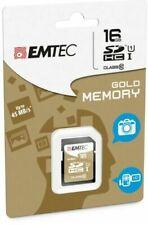New Emtec Memory SD Card 16GB Class 10 45MB/s SDHC SDXC Camera Laptop Mobile LA