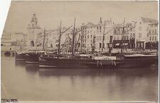 La Rochelle France Vintage albumine ca 1880