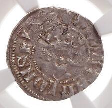 ENGLAND. Edward II. 1307-1327. Silver Penny, S-1456, NGC XF45