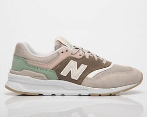 New Balance 997H Women's Tan Pink Low Casual Athletic Lifestyle Sneakers Shoes