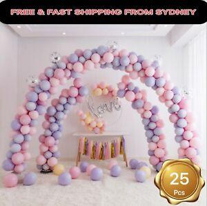 100X 30cm/12''-8Color- Pastel Ice Cream Macaron Latex Balloons Party Wedding Hel