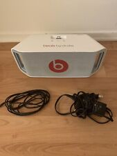 Dre Beats Beatbox Portable Bluetooth Speaker w/ iPhone Dock - White | GREAT COND