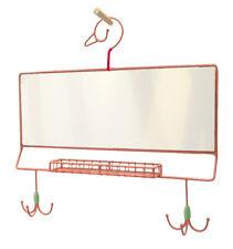 taj Wood Scherer Wandspiegel Haken Garderobe Ablage Kinder rosa Prinzessin