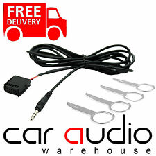 FORD Focus Mk2 2005 6000CD Car MP3 iPod iPhone Aux In Input Cable Adaptor & Keys