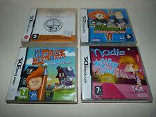 Lot 4 jeux Enfant NINTENDO DS 3DS Titeuf Max Marqueur Magique Kim Possible Brain