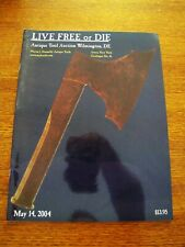 2004 MAY 11 LIVE FREE OR DIE ANTIQUE TOOL AUCTION CATALOG WILMINGTON , DE