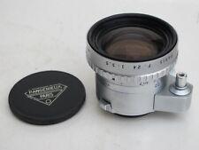 Exakta mount P. Angenieux 24mm f:3.5 Chrome Retrofocus Type R61 auto lens caps