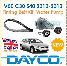 For Volvo V50 C30 S40 1.6D2 2010-2012 Dayco Timing Belt Kit & Water Pump OE Spec