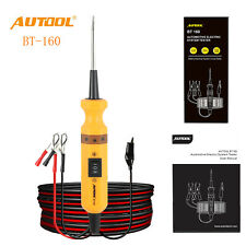 AUTOOL BT160 Car Circuit Tester 12V 24V Electrical Power Probe Circuit Scanner