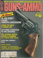 Guns & Ammo Magazine March 1980 .45 Colt From Smith & Wesson , Winchester ad