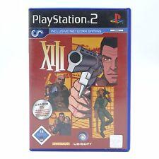 XIII Sony Playstation 2 PS2 PAL Spiel Game Sie können niemandem Vertrauen