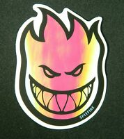 Spitfire, Multi-Color, Vinyl Sticker