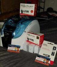 New ListingEvolis dualys 3 Id card printer, excellent print quality plus accessories