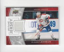 2013-14 Upper Deck Game Jerseys Claude Lemieux JERSEY Canadiens