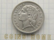 Cоins Hоme Uncirculated 1949 FRANCE 5 franc Set#24028 Uncertified Ungraded