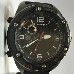 Freestyle 10022921 Men's 45mm Precision 2.0  Analog / Digital Black 200M Watch