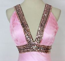 New Beyond Jovani Pink $400 Sleeveless Prom Formal Cruise Long Gown Size 2 Dress