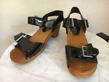 Sandals Medium Width (B, M) Synthetic Solid Heels for Women