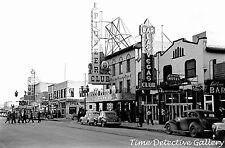 Street Scene, Las Vegas, Nevada - 1942 - Vintage Photo Print