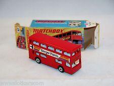 Matchbox Superfast N°17 Bus The Londonner Berger Paints  N/Mint & Boite ! (#MBA)