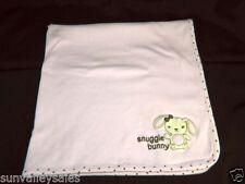 Gymboree SNUGGLE BUNNY Pink Brown Polka Dot Baby Security Blanket