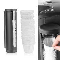Disposable Paper Filters & KCup Filter Display Storage Rack Box For Keurig K-Cup
