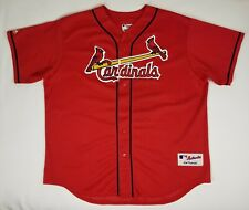 Majestic St Louis Cardinals Jersey Authentic Collection Men Sz XL USA Made Vntge