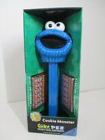 """Sesame Street Cookie Monster 12"""" Giant PEZ Dispenser - New  2004 35th Anniver"""