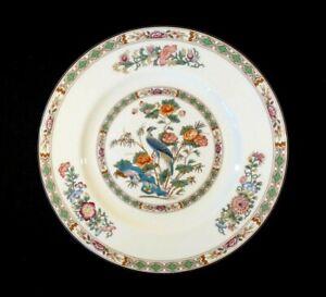 Beautiful Wedgwood Kutani Crane Brown Trim Dinner Plate