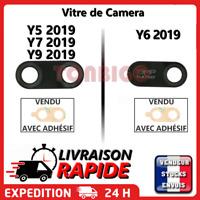 HUAWEI Y5 Y6 Y7 Y9 2019 Vitre arrière caméra Lentille appareil photo Lens verre