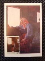 RUSSIA MK 1979 PAINTING MALEREI GEMÄLDE MAXIMUM CARD MAXIMUMKARTE MC CM a8330
