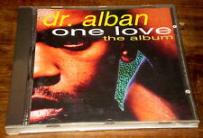 DR. ALBAN ONE LOVE The Album Dance Electronic CD BMG Ariola '92 made in Austria