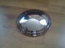 AUSTIN A40 DEVON, DORSET, SOMERSET VAN PICK UP NEW PLAIN CHROME HUB CAPS X 4