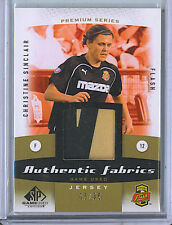 Christine Sinclair 2011 Upper Deck SP Game Used Patch Card /35