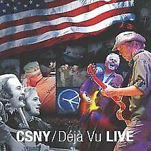 Crosby Stills Nash & Young - Déjà Vu: Live NEW CD