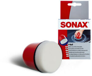 SONAX 04173410 P-BALL POLIERBALL POLITUR BALL SCHWAMM 1 STÜCK
