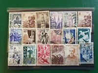 18 French vintage stamps
