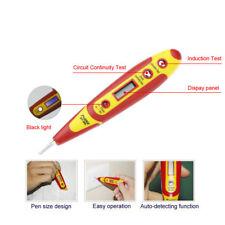 Multifunction 12-250V LED Digital Electric Tester Pen Probe Voltage Power Detect