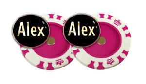Best Impressions Personalised Magnetic Poker Chip Golf Ball Markers