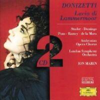 STUDER/DOMINGO/MARIN/LSO - LUCIA DI LAMMERMOOR (GA) 2 CD NEU
