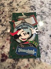 Disney DLR Mickey Mouse 2005 Christmas Holiday Ornament Series LE Pin