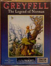 Greyfell (Starlight, 1987) (C 64) Commodore C64 (Tape, Box) 100% ok