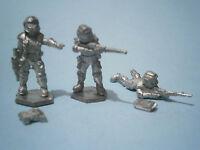 Denizen SF Human Troopers (3 different). 1980s/90s Metal