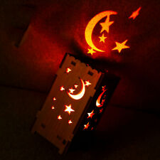 Colorful Star Moon Ambient Projection Lamp USB Charging Bedroom Sleep Light