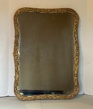 Old Antique Mirror With Gold Ornate Frame 28�x 20�