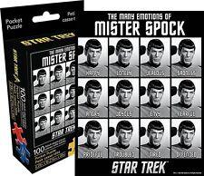 STAR TREK le emozioni di Spock 100 Pezzi Mini Puzzle (Nm)