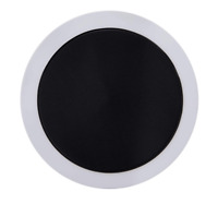 STYLARIZE® 2x Car Parking Permit Holder Black Road Tax Disc Holder Self Adhesive