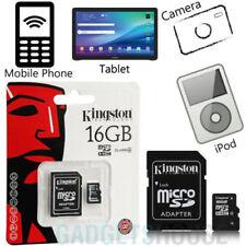 Tarjetas de memoria Universal MicroSDHC para teléfonos móviles y PDAs con 16 GB de la tarjeta