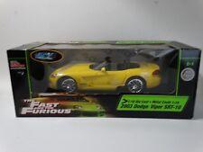 Ertl Racing Champions Fast And Furious 2003 Dodge Viper SRT-10 1:18 Diecast Car