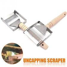 Stainless Steel Bee Hive Uncapping Honey Fork Scraper Shovel Beekeeping Tool /MY